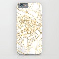 SOFIA BULGARIA CITY STREET MAP ART iPhone 6s Slim Case