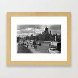 Cathedral of St. Mary Magdalene in Warsaw Framed Art Print