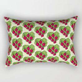 Love for Radishes Rectangular Pillow