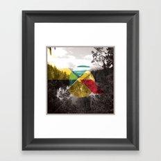 Sojourn series - Lake Mathieson Framed Art Print