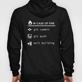 In case of fire - Git commit Hoody