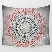 Granite Mandala Wall Tapestry