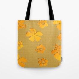 ORANGE BLOSSOMS AFTER MODERN ART Tote Bag