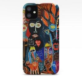 Street Art Graffiti Storm inside of me iPhone Case