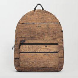 Wooden pattern Backpack