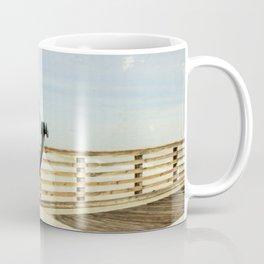 Jacksonville Beach Pier View Finder Coffee Mug