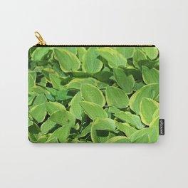 Hosta -Golden Tiara Hostaceae Carry-All Pouch