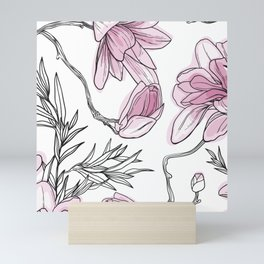 Perfect magnolia Mini Art Print