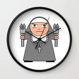 BAD HABIT UZI LUVVA Wall Clock