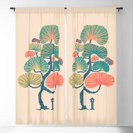 Japan garden Blackout Curtain