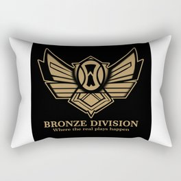 Bronze Division Rectangular Pillow