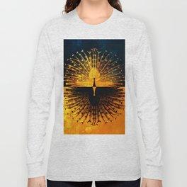 Peacock - Mad Men inspired Long Sleeve T-shirt