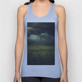 Tornado Coming (Color) Unisex Tank Top
