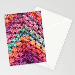 Crochet Grannysquare #3 Stationery Cards