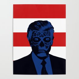 Trump Lives Poster