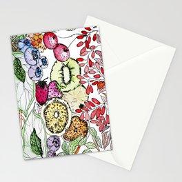 Fruit Harvest Stationery Cards