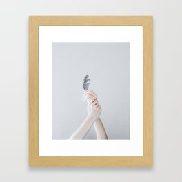 sinking (vertical) Framed Art Print