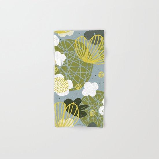 Kokedama Garden by Friztin Hand & Bath Towel