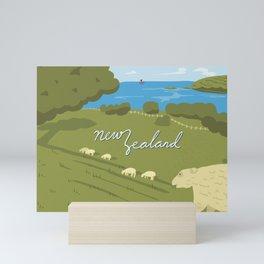 New Zealand Mini Art Print