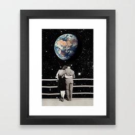 Center Gravity Framed Art Print