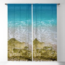 Beautiful Beach Tropical Blackout Curtain