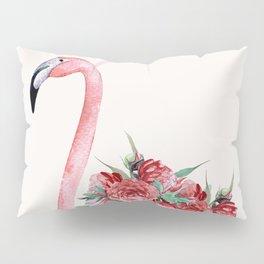 Flamingo Floral Pillow Sham