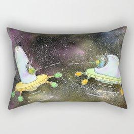 Alien War Rectangular Pillow