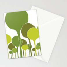 Green palette Stationery Cards