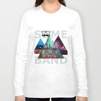 band Long Sleeve T-shirts featuring Best Band by The Last Universe