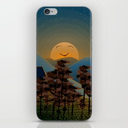 Landscape sunset iPhone Skin