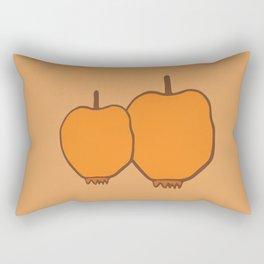 just apple Rectangular Pillow
