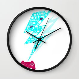 Game On!! Wall Clock