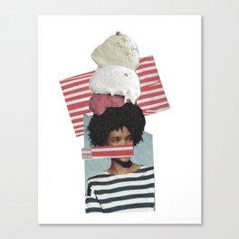 ICE-CREAM Canvas Print