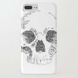 1 Corinthians 1 Skull iPhone Case