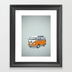VW Campervan Framed Art Print