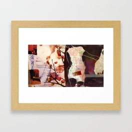 Central Courtyard Framed Art Print