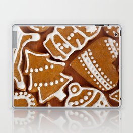 Christmas Gingerbread Cookies Laptop & iPad Skin