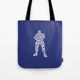 Soldier 76 Type illustration Tote Bag