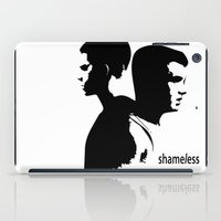 shameless iPad Cases featuring Shameless Ian Gallagher and Mickey Milkovich by trenchcoatandimpala