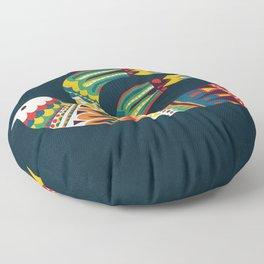 Native Bird Floor Pillow