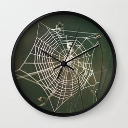 Spiderweb Wall Clock