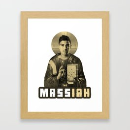 The MASSiah Framed Art Print