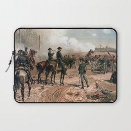 General Sherman Observing The Siege of Atlanta Laptop Sleeve