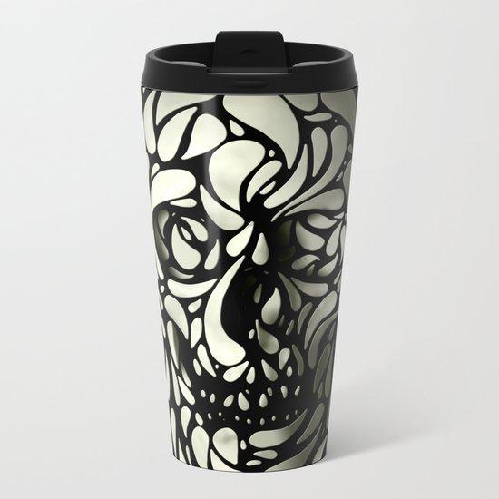 Skull Metal Travel Mug