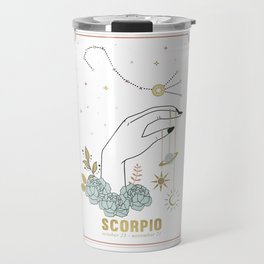 Scorpio Zodiac Series Travel Mug