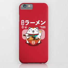 Fortune Ramen iPhone Case