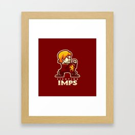 Fightin' Imps Framed Art Print