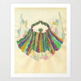 Yacht Rock Beard Art Print