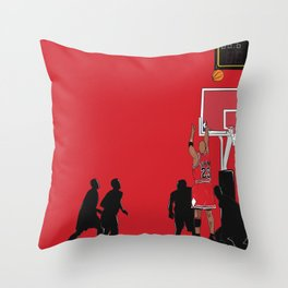 Jordan Last Shot Throw Pillow