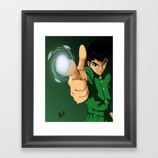 Yusuke Urameshi  Framed Art Print